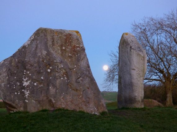 Moonrise, Avebury - Sue Vincent