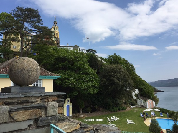 Portmeirion recci from hotel up hill copy